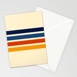 Katahide - Classic Retro Stripes Stationery Cards