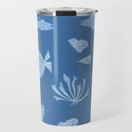 Ocean Pattern Travel Mug