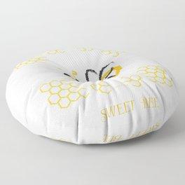 Happy Bee 2 Floor Pillow