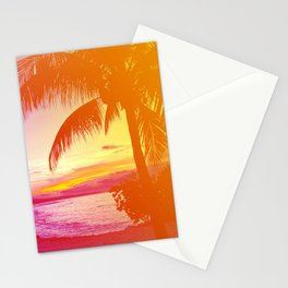 Tropical Dreamsicle Stationery Cards