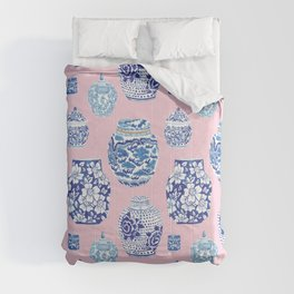 Chinoiserie Ginger Jar Collection No.7 Comforters
