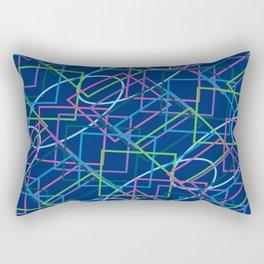 Geo80s Rectangular Pillow