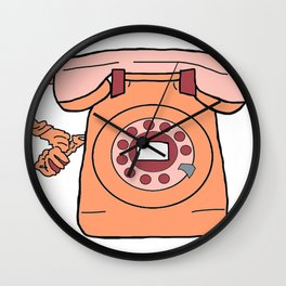 wait for dial tone Wall Clock