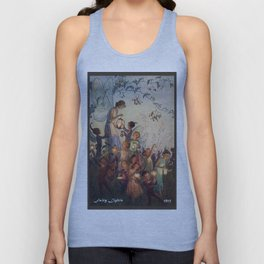 """Fairy Lights"" by Hilda Miller 1915 Unisex Tank Top"