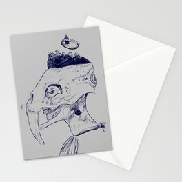Head Of Her Crown. Stationery Cards
