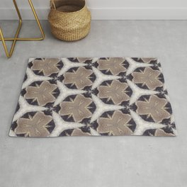 African Inspired Pattern Rug