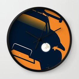 Rocket League Octane Wall Clock