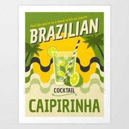 BRAZILIAN CAIPIRINHA Kunstdrucke