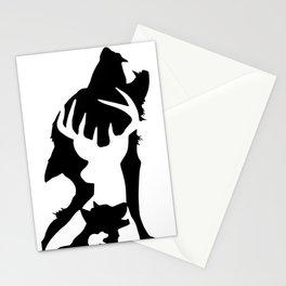 Magic cute Animagi Squad Stationery Cards