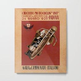 Italian Motorcycle Championship Race Metal Print