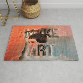 make art Rug