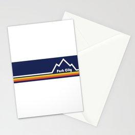 Park City, Utah Stationery Cards