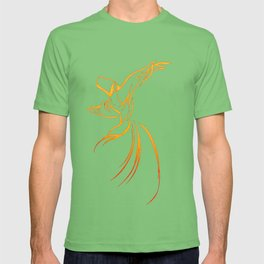 Sema The Dance Of The Whirling Dervish T-shirt