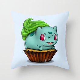 Bulba Cupcake Throw Pillow