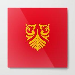 flag of vestfold og telemark Metal Print