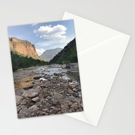 River of Rocks Stationery Cards