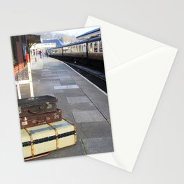 Cases At The Old Railway Station Stationery Cards