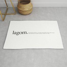 Lagom -Wiki Rug