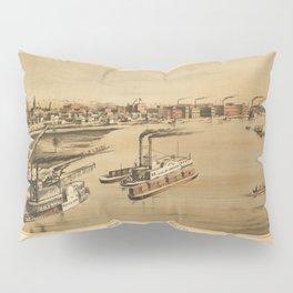 La Crosse Wisconsin 1873 Pillow Sham