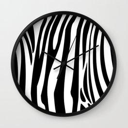 Zebra trendy design artwork animal exotic pattern Wall Clock