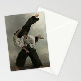 Irimi Nage Stationery Cards