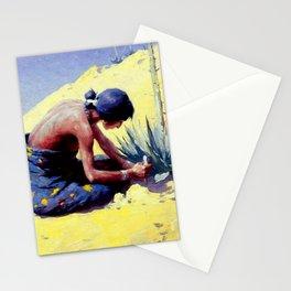 "Western Art ""Peyote Buds"" Stationery Cards"