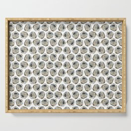 Illuminated Structure: Solo Pyrite Nugget Serving Tray