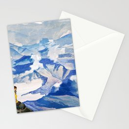 Nicholas Roerich - Drops Of Life - Digital Remastered Edition Stationery Cards