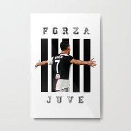 football player Metal Print