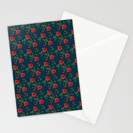 Royal Oriental Poppy Flower Stationery Cards