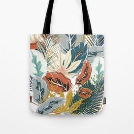 Tropical Wild Jungle Tote Bag