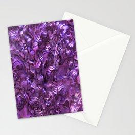 Abalone Shell   Paua Shell   Sea Shells   Patterns in Nature   Magenta Tint   Stationery Cards