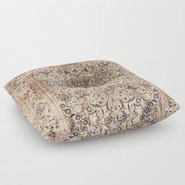 Silk Esfahan Persian Carpet Print Floor Pillow