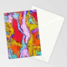 Colour aftershock Stationery Cards
