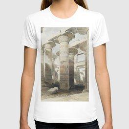 Karnac (Karnak) illustration by David Roberts (1796–1864)cc T-shirt