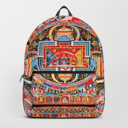 Mandala Buddhist 6 Backpack