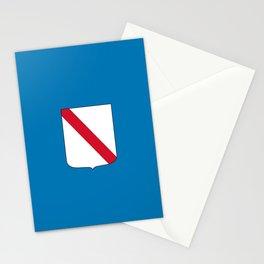 flag of campania Stationery Cards