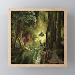 Deep In The forest Framed Mini Art Print