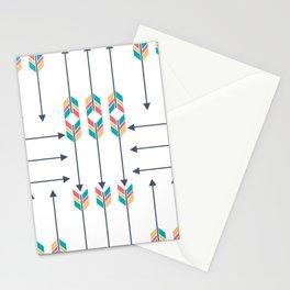 Native American Arrowhead Arrows Stationery Cards