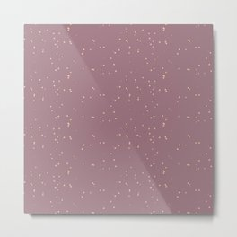 Raspberry Shambolic Bubbles Metal Print