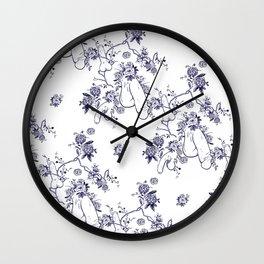 Penis Pattern Wall Clock