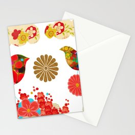 We Create Our Own World Stationery Cards