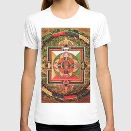 Buddhist Mandala Jungian Archetype T-shirt