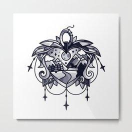 heart path Metal Print
