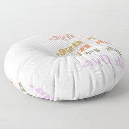 Buh Bye Floor Pillow