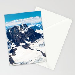Snowy Mountains Stationery Cards