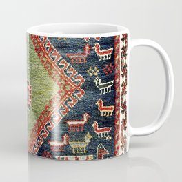 Luri Fars Southwest Persian Animal Carpet Print Coffee Mug