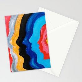 T@me Impala / Feels Like We Only Go Backwards / canvas Stationery Cards