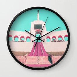 PASTEL COLISEUM Wall Clock
