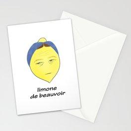 limone de beauvoir Stationery Cards